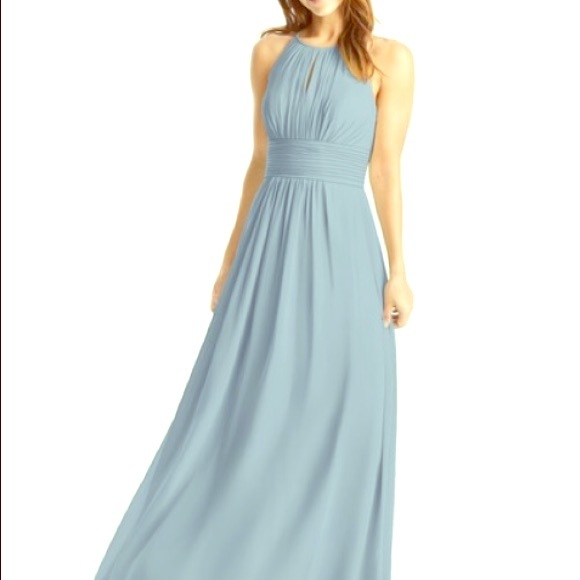 8070c20f46e Azazie Dresses   Skirts - Azazie Bonnie Bridesmaid Dress Dusty Blue